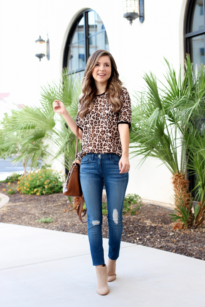 simply sutter - leopard tops - fall leopard tops - casual fall outfits