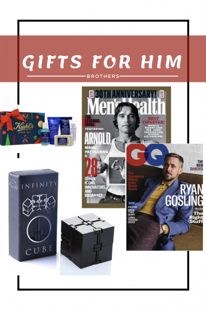 Gift Guide - Gift Ideas for brother - Holiday gift idea for him