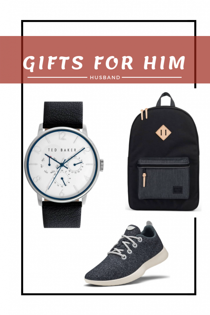 holiday gift guide for him - gift guide for husband - husband gift guide