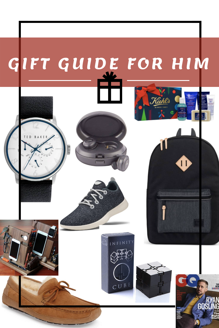 holiday gift guide for him - christmas gifts for him