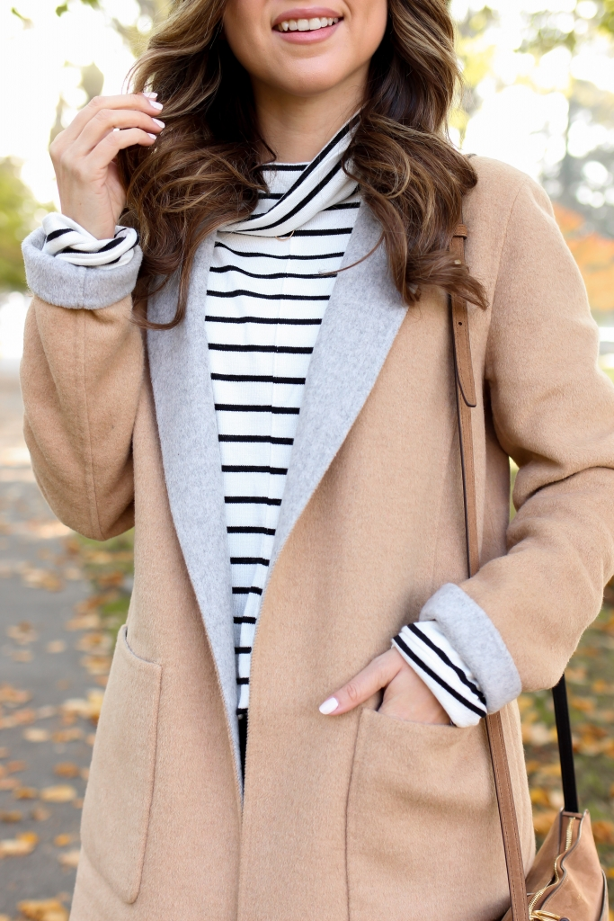 Thanksgiving outfits - 6 thanksgiving outfits - casual outfits - simply sutter - black and white stripes