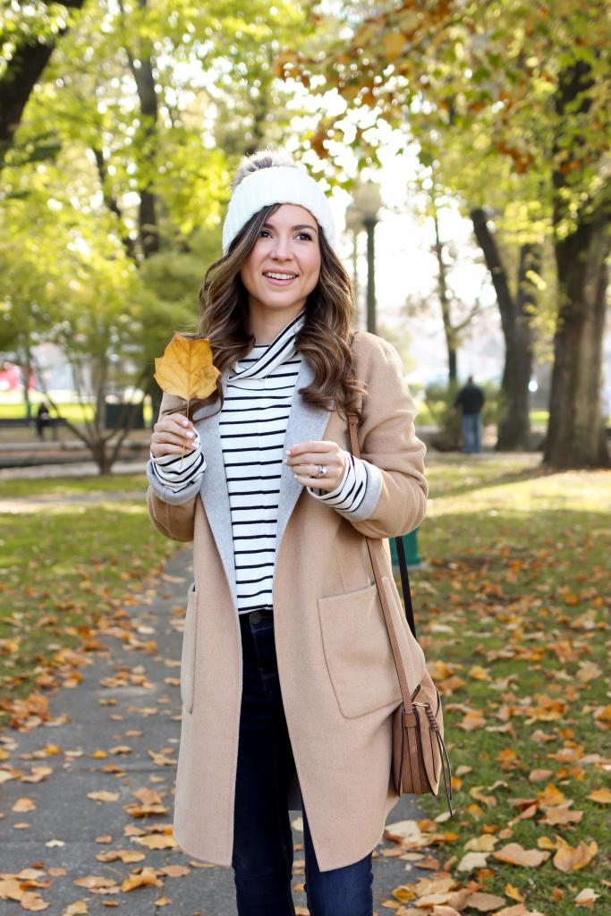 what to wear for thanksgiving - casual thanksgiving outfits - simply sutter - fall coat outfits