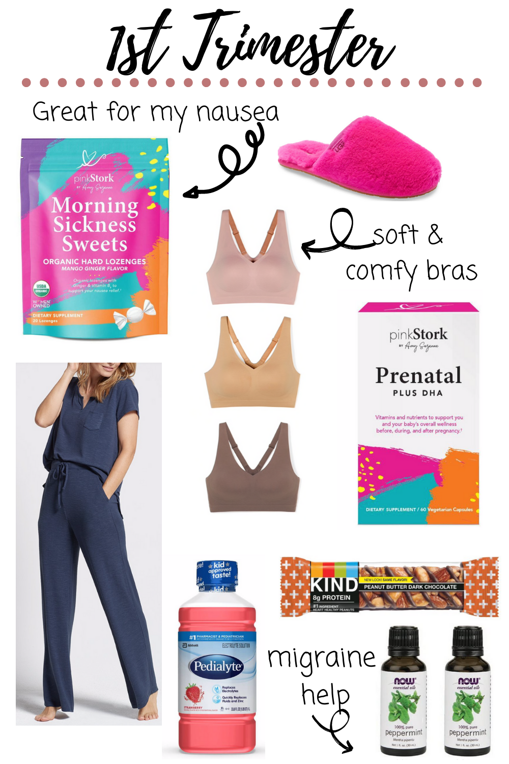 1st trimester must haves